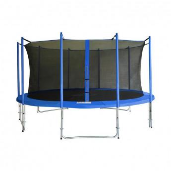 MyJump 4,60 M Trampoline de jardin bleu - MYCO00740
