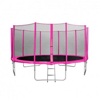 MyJump 4,60 M Trampoline de jardin rose - MYCO00750