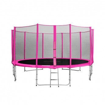MyJump 4,60 M Trampoline de jardin rose - MYCO00751