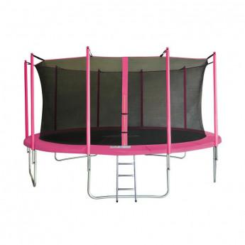 MyJump 4,60 M Trampoline de jardin rose - MYCO00754