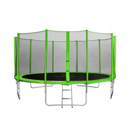 MyJump 4,60 M Trampoline de jardin vert - MYCO00758