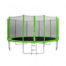 MyJump 4,60 M Trampoline de jardin vert
