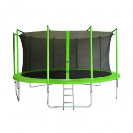 MyJump 4,60 M Trampoline de jardin vert - MYCO00762