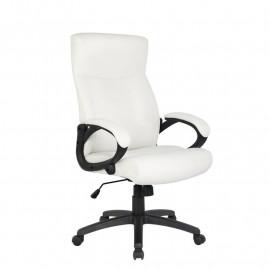 Chaise de bureau Paras Blanche