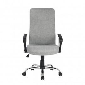 Chaise de bureau pivotante Grise