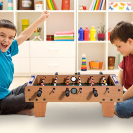 Table de Baby foot marron pour enfants – BABSOC
