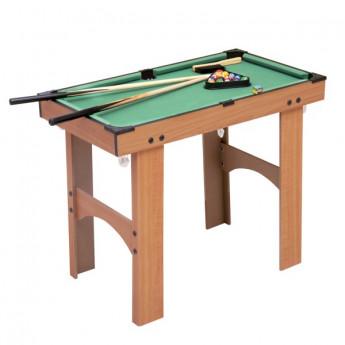 Mini Table de Billard LOUNGY sur Pied en Bois