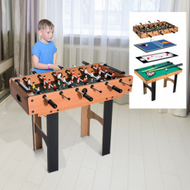 Table Multi-Jeux 4 en 1 PLAYKID