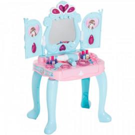 Coiffeuse Piano 2 en 1 LILY pour Enfant Bleu