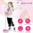 Micro Sur Pied STARKIDS Enfant Rose