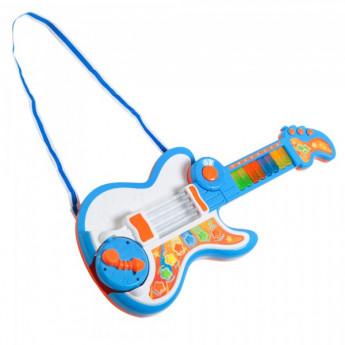 Guitare 3 en 1 Jimmy pour enfant bleu