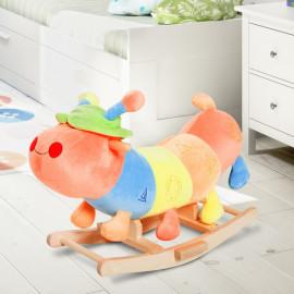 Chenille à bascule multi-couleur pour enfants