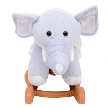 Jouet à Bascule Éléphant TROUMPY Gris