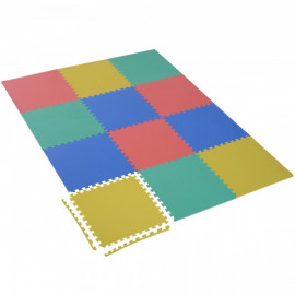Tapis de sol Copenhague multicolore