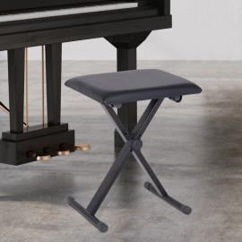 Tabouret de piano pliable Musitop noir