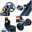 Kart à Pédales pour Enfants MONTPELLIER Orange