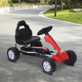 Kart à Pédales PAOLO pour Enfant Rouge