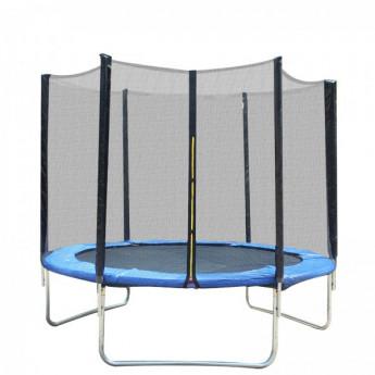 Filet de sécurité pour trampoline Suniblac noir