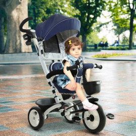 Tricycle évolutif pliable Pyradol bleu