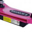 Trottinette électrique rose pour enfant Happy'Trot
