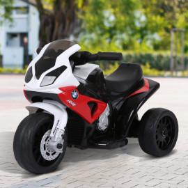 Moto Tricycle électrique BWV blanc et rouge