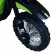 Motocross Électrique pour Enfants Vert