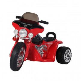 Moto Électrique pour Enfant en Métal Rouge
