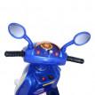 Scooter électrique garçon bleu