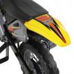Moto Cross Électrique Enfants Booster jaune