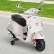 Scooter électrique enfant blanc