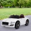 Véhicule Électrique Bentley 2 Moteurs Blanc