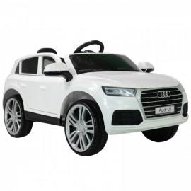 Voiture électrique Audi Q5 blanc