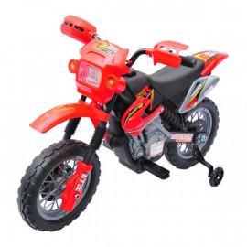 Moto Cross Électrique Enfant Spider Rouge