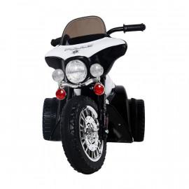 Moto Électrique pour Enfant en Métal Noir