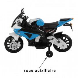 Moto électrique bimoteur PILOTAC bleu