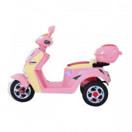 Moto Scooter Electrique Pinko Enfant Rose