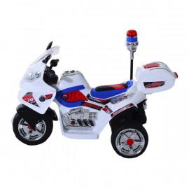 Moto Scooter Electrique Enfant Blanc