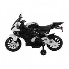 Moto Shark blanche et noire