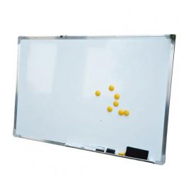 Tableau magnétique avec cadre aluminium France blanc