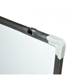 Tableau magnétique Paris blanc avec cadre en aluminium