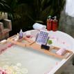 Pont tablette plateau de baignoire Seaso bambou