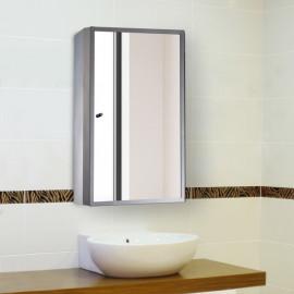 Armoire de salle de bain Oslo en acier inox