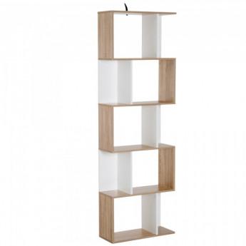 Bibliothèque Benjamin Multi-Rangements Blanc