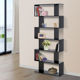 Bibliothèque Zebra noire