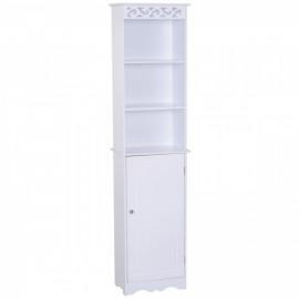 Meuble colonne de salle de bain Coloss blanc