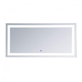 Miroir Lumineux antibuée VÉNUS blanc