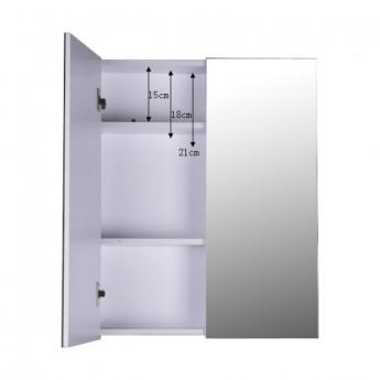 Armoire de salle de bain Agathe blanche