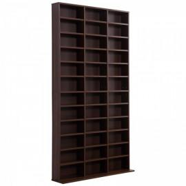 Bibliothèque pour rangement - Marron