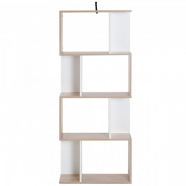 Bibliothèque Multi-Rangements Blanc