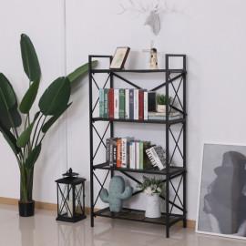 Étagère bibliothèque noire Blok